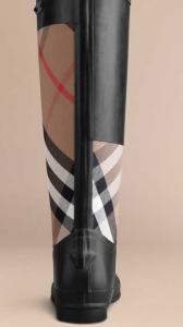 Burberry Clemence Rain Boots: Classical and Practical