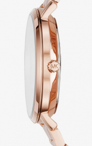 MICHAEL KORS Jaryn Rose Gold-Tone and Acetate Watch: Elegance and Casual