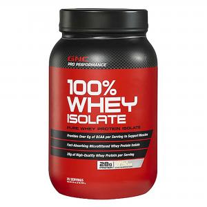 GNC Pro Perfornace 100% Whey Isolate: Fast Muscle Nutrition