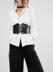 The Spring's Biggest Fashion Trend - The Corset Belt