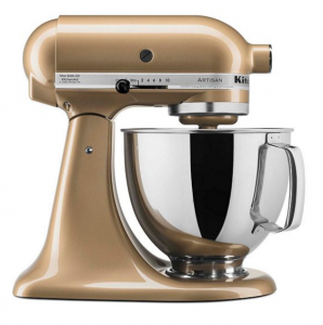 KitchenAid® Artisan® Gold Shimmer 5-qt. Stand Mixer + FREE Food Grinder