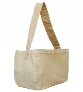 Continental Bag Cotton Canvas Reusable Shopping & Messenger Bag