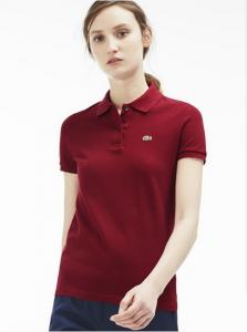 Lacoste Women's Classic Fit Piqué Polo Shirt