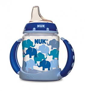NUK Fashion Elephants Learner Cup 5-Ounce