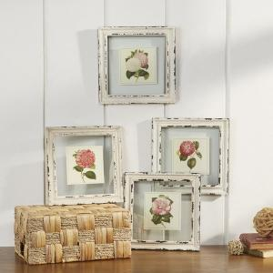 Set of 4 Cottage Floral Prints are 34% Off Plus take an additional 15% Off