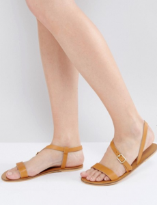 Warehouse Asymetric Strappy Sandal