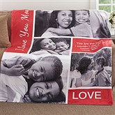 Picture Perfect Personalized 50x60 Fleece Photo Blanket