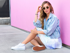 White Canvas Sneakers to Rock This Summer