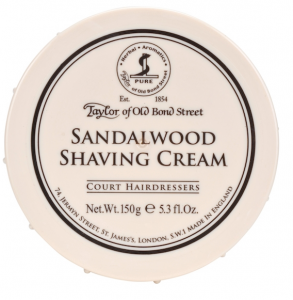 Taylor of Old Bond Street Sandalwood Shaving Cream, 5.3-Ounce