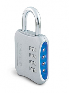 iGotTech Heavy Duty Gym Lock: 4 Digit Combination Padlock