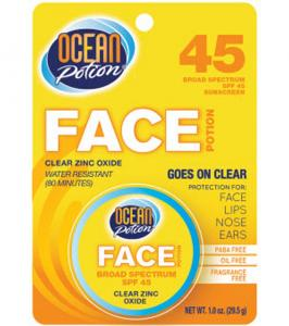 Ocean Potion Ocean Potion Face Potion Clear Zinc SPF 45