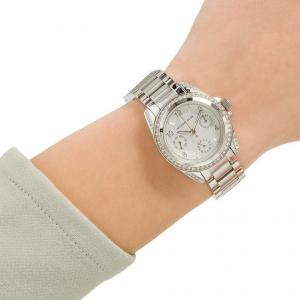 Michael Kors Women's Parker Crystal Chronograph Watch