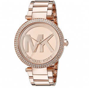 Women's Michael Kors Parker Logo Dial Bracelet Watch, 39Mm