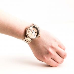 Women's Michael Kors Parker Logo Dial Bracelet Watch, 39Mm