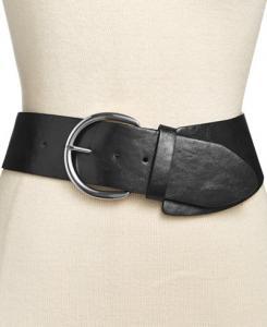Style & Co Asymmetrical Stretch Belt