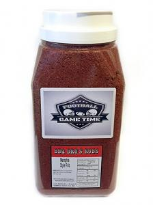 BBQ Bros Rubs - Football Tailgate Edition - Memphis Style 5 lbs - Ultimate Barbecue Spices Seasoning Set (Limited Edition)