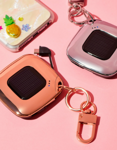 MixBin V4 Solar Charger Keychain