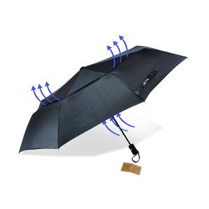 "Golf Umbrella with Double Canopy Windproof ""Unbreakable Frame"""