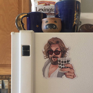 The Big Lebowski Dude Fridge Magnet
