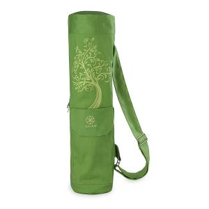 Gaiam Full-Zip Cargo Pocket Yoga Mat - Tree of Wisdom