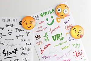 3D Emoji Refrigerator Magnets, Fridge Magnets