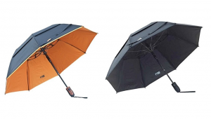 The Black Aspen Solo 46-inch Wind Resistant Umbrella