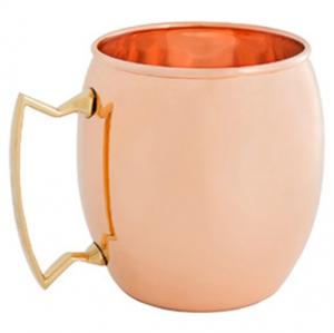 16 Oz. Solid Copper Moscow Mule Mug