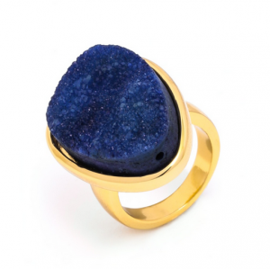 Druzy Cocktail Ring