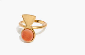 Madewell Haiku Statement Ring