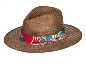 Here We Go Straw Panama Hat