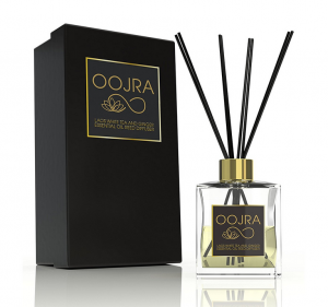 Oojra Laos White Tea and Ginger Essential Oil Reed Diffuser Gift Set