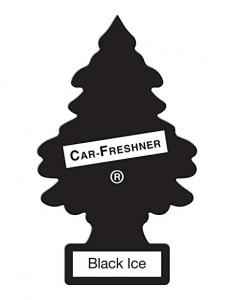 Little Trees U3S-32055 Air Freshner (Black Ice Pk3)