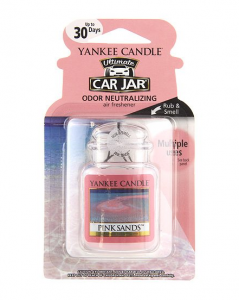 Yankee Candle Company 1238122 Pink Sands Car Jar Ultimate