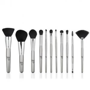e.l.f. Cosmetics Silver 11 Piece Brush Collection