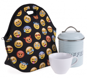 Emoji Insulated Neoprene Lunch Bag