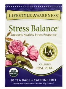 Lifestyle Awareness Stress Balance Organic Rose Petal Tea