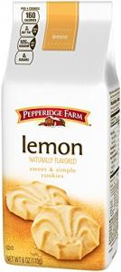 Pepperidge Farm Sweet & Simple Lemon Cookies