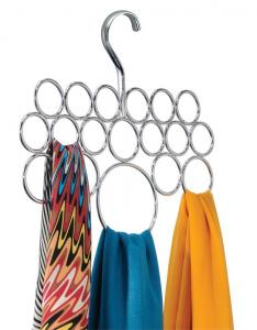 Chromed Scarf Hanger