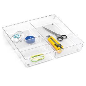Linus 4-Section Drawer Organizer