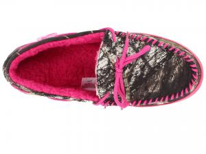 M&F Western Mossy Oak Moccasin Slippers