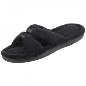 Isotoner Signature Isotoner Micro-Terry Satin Slide Slipper