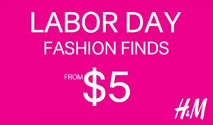 H&M Labor Day Sale: Up to 60% Off + Free Shipping
