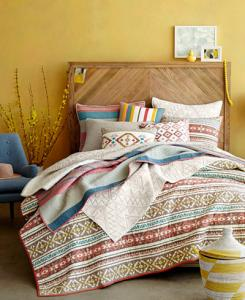 Aztec Dreams Quilt and Sham Collection