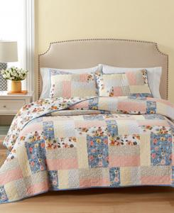 Cotton Fair Breeze Reversible Full/Queen Quilt