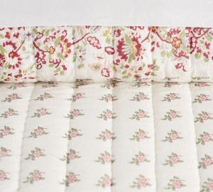Liviah Reversible Print Quilt