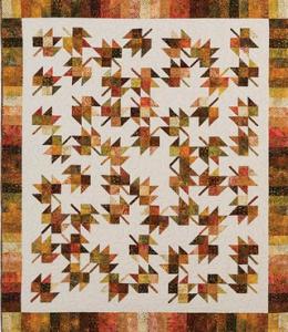 Falling Leaves Quilt Kit