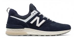 New Balance 574 Sport, Navy with White 574 Sport