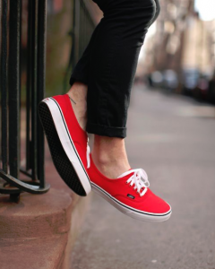Vans The Authentic Red Sneaker