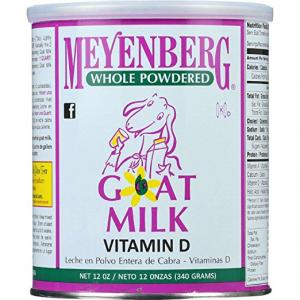 $9.45 Meyenberg Whole Powdered Goat Milk, Vitamin D, 12 Ounce