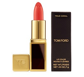 Free Deluxe Sample of Lip Color in True Coral with Tom Ford purchase of Beauty or Private Blend Fragrance